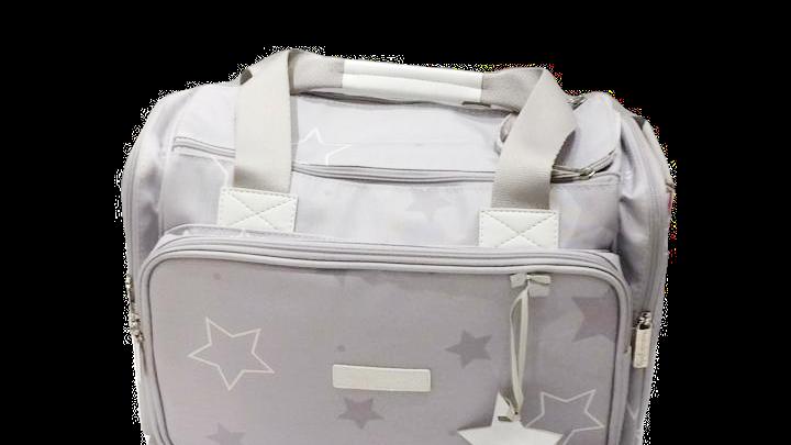 Bolsa grande básica com trocador e chupeta Master Bag