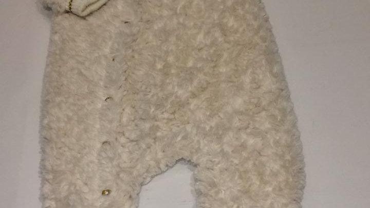 Macacão de pelo com forro de algodão Animê