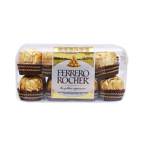 Chocolates Ferrero Rocher x16uni.