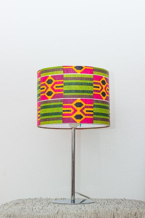 Lampe de chevet design imprimé wax kenté - Nayoé #5