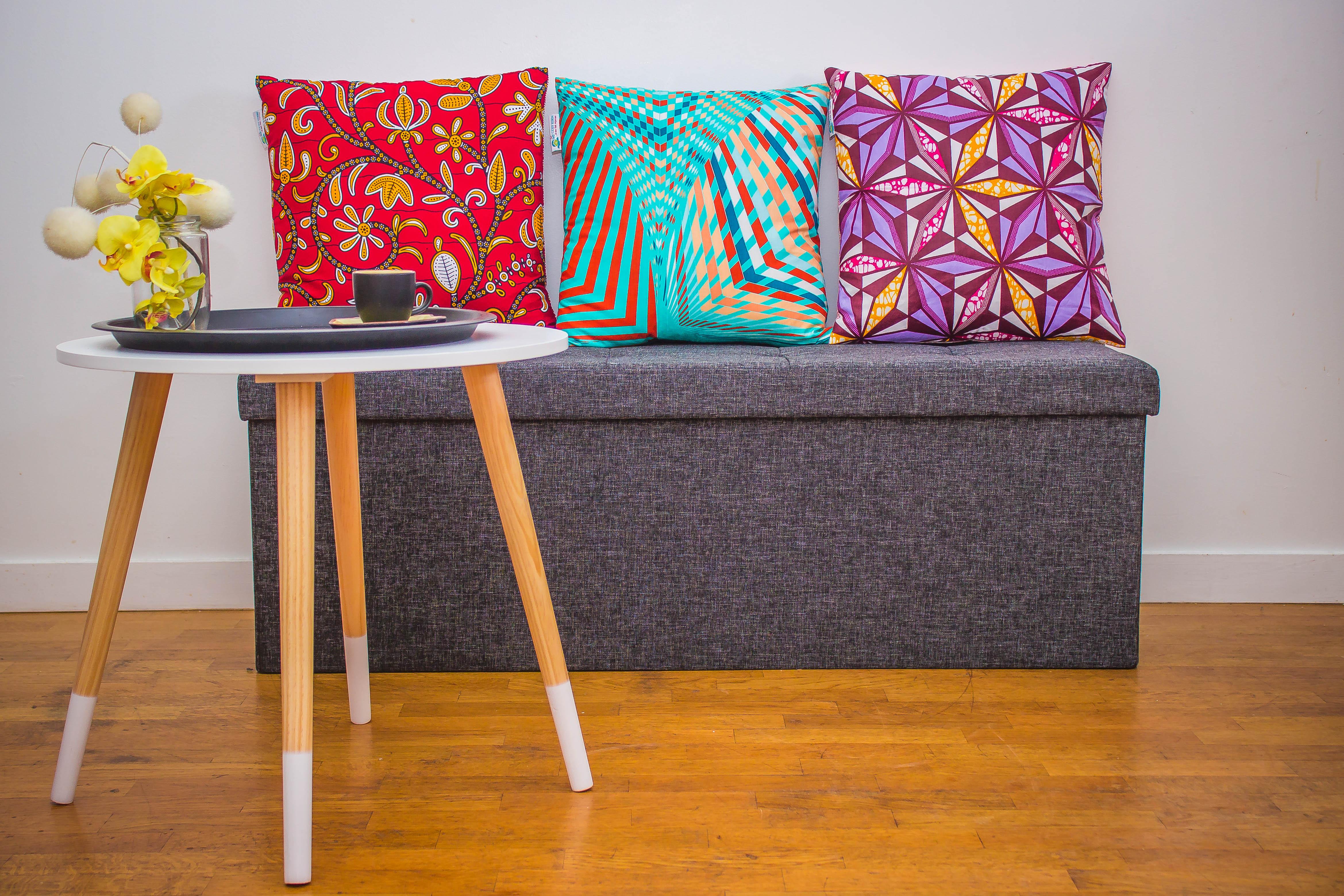 Coussin - oreiller - canapé - housse