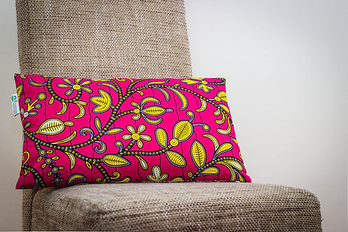 coussin wax pagne africain ethnique ankara décoration