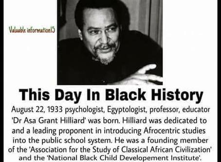 Dr. Asa Grant Hilliard