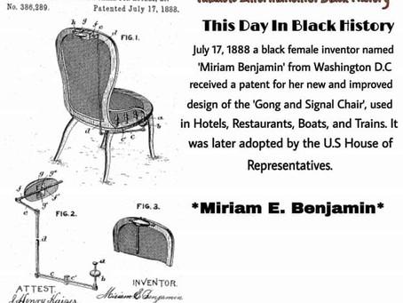 Miriam E. Benjamin: Inventor