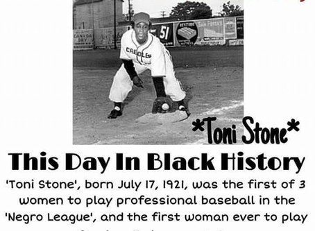 Toni Stone: First Woman to Play Professionally in a Man's Baseball League