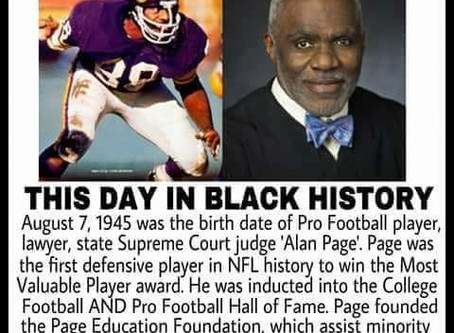 Alan Page: State Supreme Court Judge and Hall of Fame Athlete