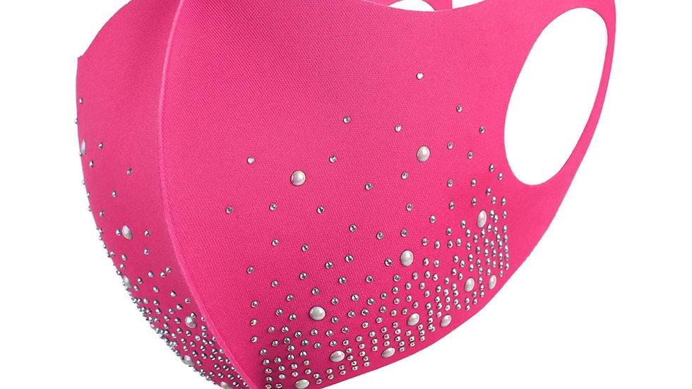 Pink Bling Mask