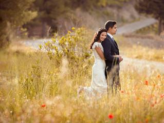 Fotografía creativa de boda en Murcia