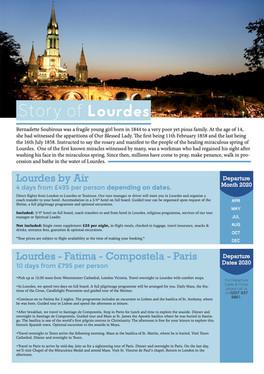 Lourdes by Air