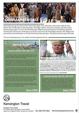 Oberammergau | Rome & Assisi | Poland