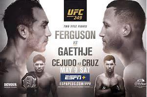 UFC 249: Recap and Grade