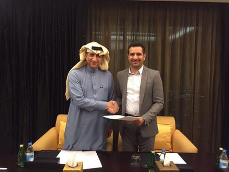 Partnership agreement to expand in Saudi Arabia