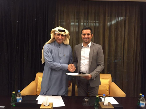 Partnership agreement to expand in Saudi Arabia