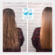 K gloss frizzy hair