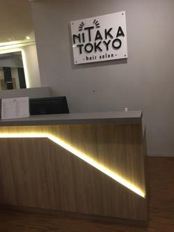 Japanese hair salon in Jakarta