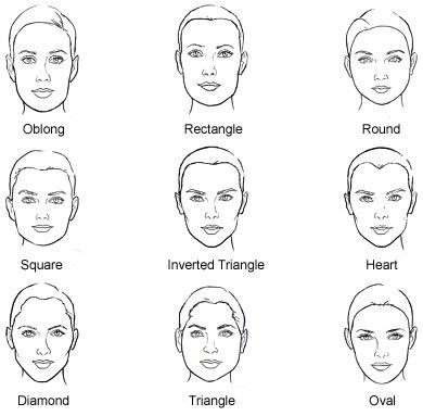 Style your hair to match your face shape