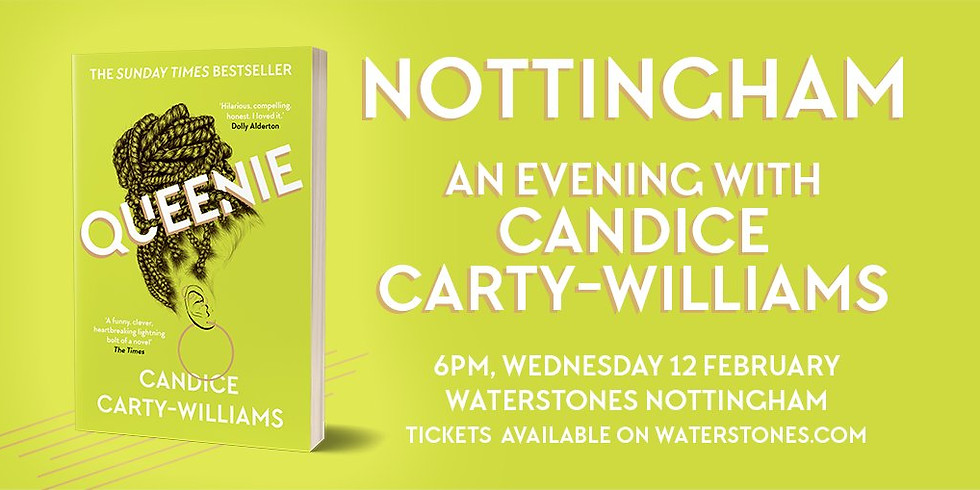 Nottingham: An Evening with Candice Carty-Williams