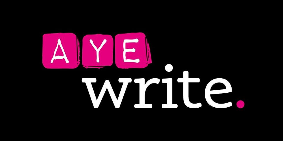 Glasgow: AyeWrite Festival