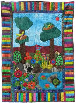 The Rainforest Garden_58x80_2009