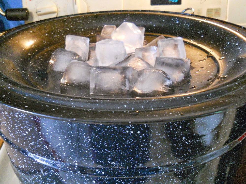 Ice for lid