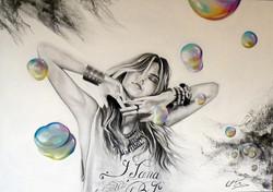 La vie est belle comme une bulle de savon !
