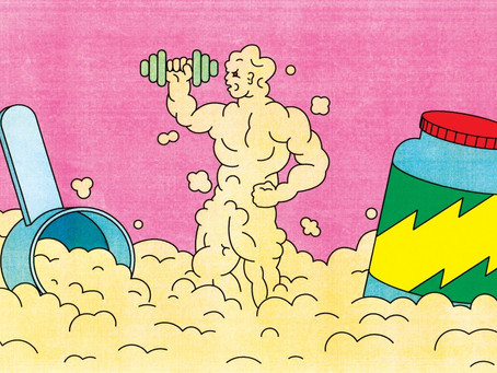 Pump You Up: The Enduring Power of Protein Powder