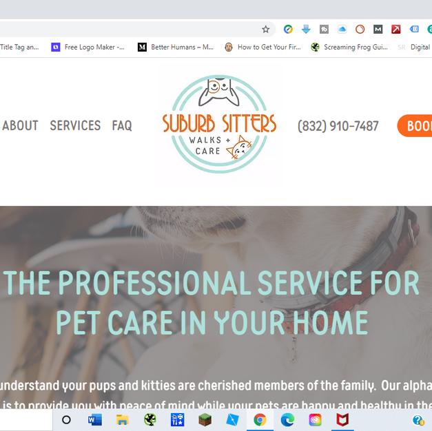 Suburb Sitters Pet Care