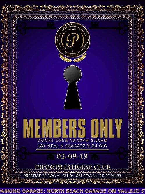 Single Day Membership