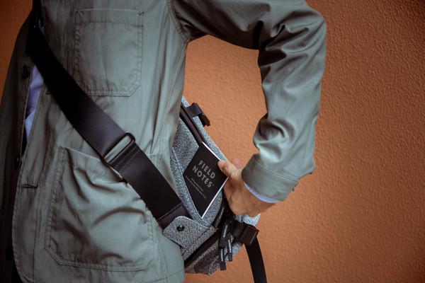 Rear Hidden Pocket