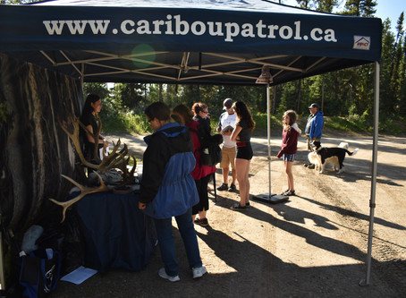 Campground talks at Pierre Grey's Lakes