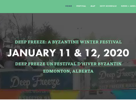 Come chill with us at the 2020 Deep Freeze Festival in Edmonton