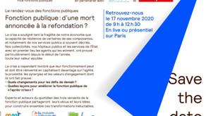 Conférence annuelle du Pôle Fonctions Publiques d'AG2R La Mondiale