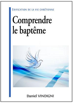 """Livre """"Comprendre le baptême"""""""