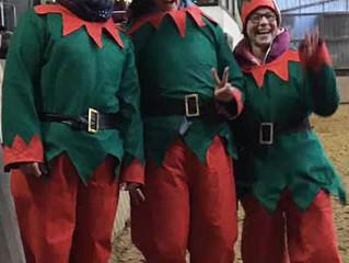 Weihnachtsfeier mit Quadrillen Aufführung 2019 - Fotos und Videos online !