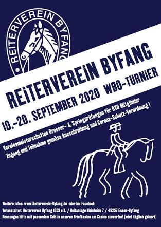 RVB WBO-TURNIER 2020 AUSSCHREIBUNG & WICHTIGE DOWNLOADS