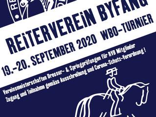 RVB WBO-Turnier-Reitertag 2020