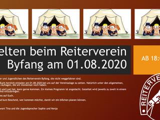 RVB Jugend Zelten im Reiterverein