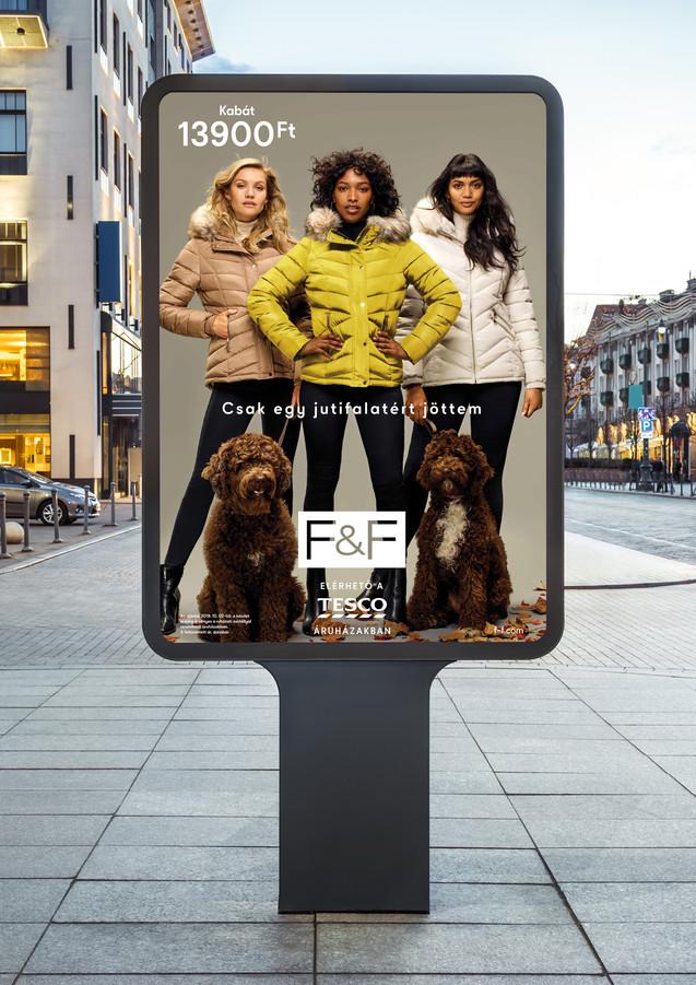 F&F kampaň AW19