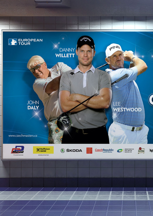 D+D Real Czech Masters 2018 billboard