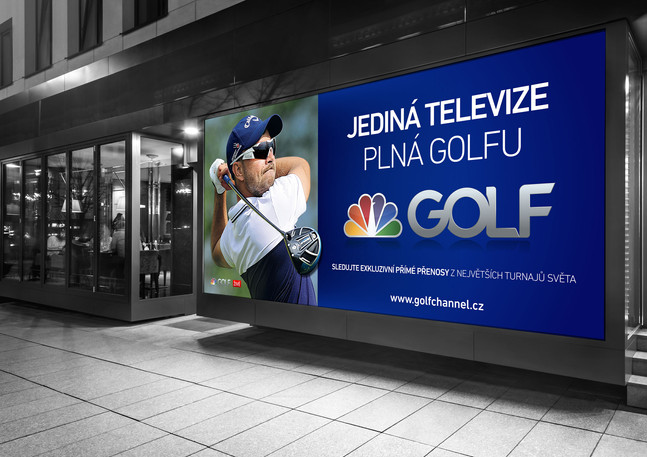 Golf Channel billboard