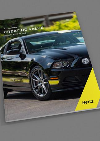Hertz Výroční zpráva 2015