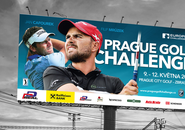 Billboard Prague Golf Challenge 2019