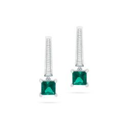 Blue-Green Tourmaline Earrings