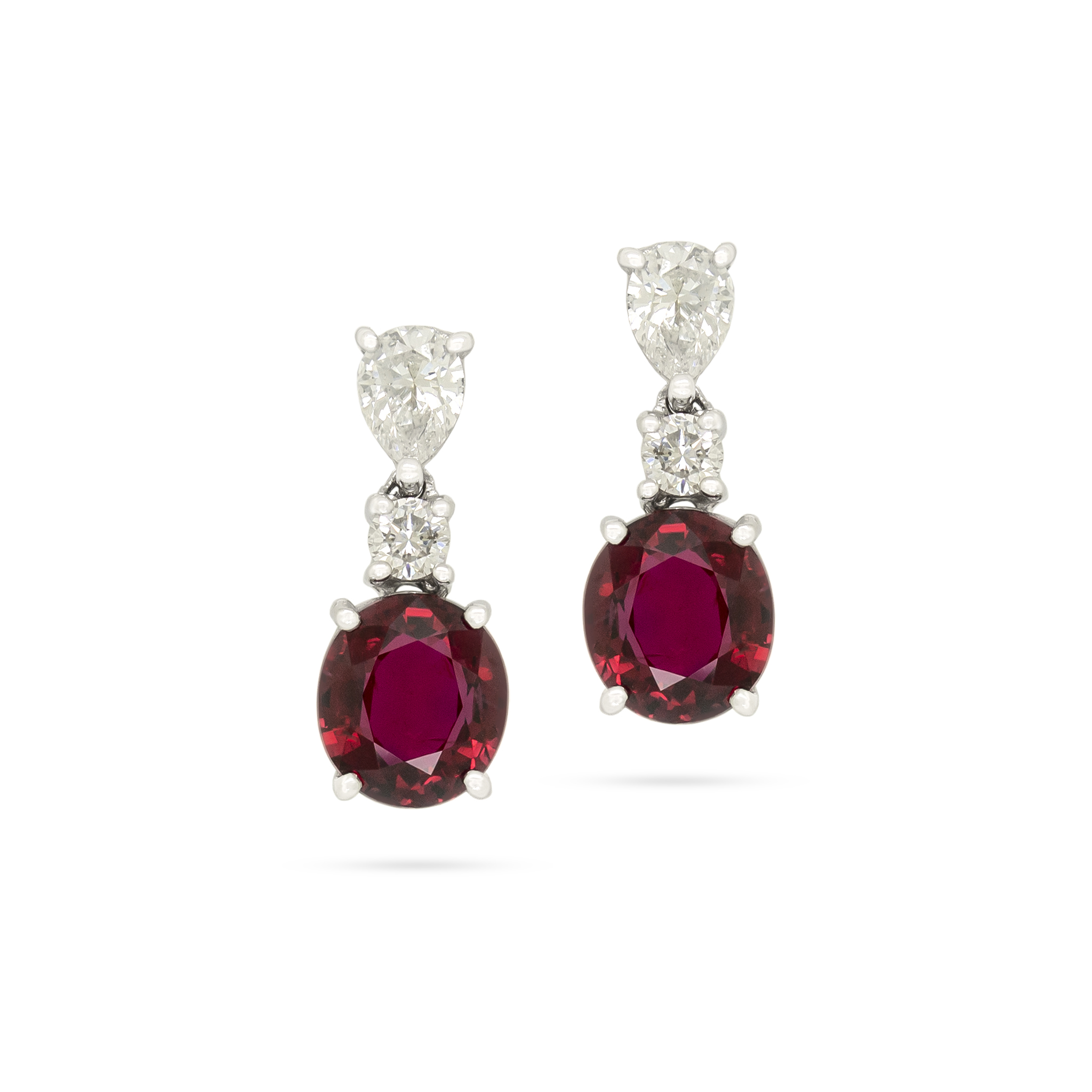 Pigeon's Blood Rubies and Diamonds