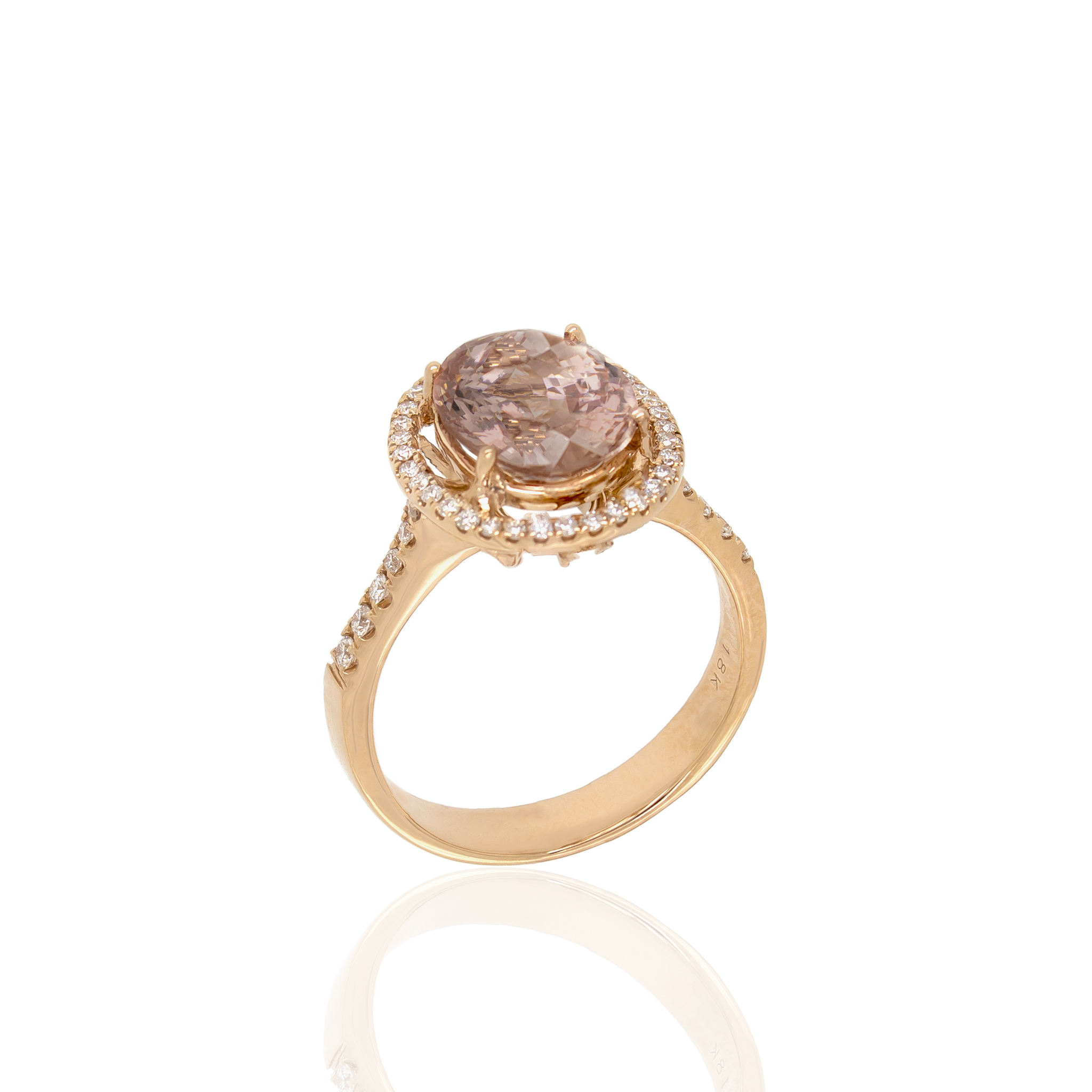 noxy rosegold ring white