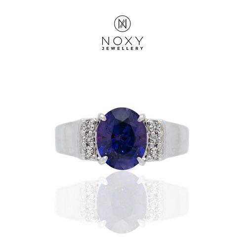 Colour Change Sapphire Ring