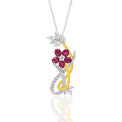 Noxy ruby necklace