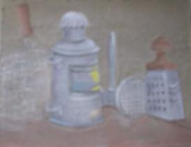 Натюрморт с фонарем Торопов