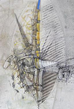55. Ad modum.  2010, бумага, акварель, т