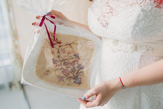Свадебный марципан